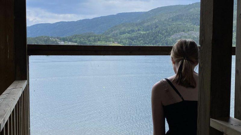 Med utsikt over Seljordsvannet