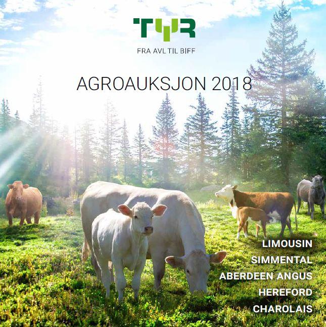 Auksjonskatalog for Agroauksjon 2018